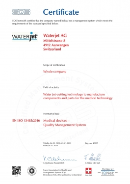 ISO 13485 / 2016